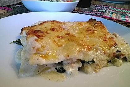 Lachs-Spinat-Lasagne (Bild)