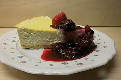 Low Carb New York Cheesecake - fast ohne Kohlenhydrate 1