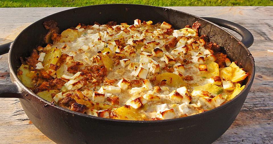 zucchini kartoffel hack auflauf