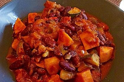 Süßkartoffel-Chili 8