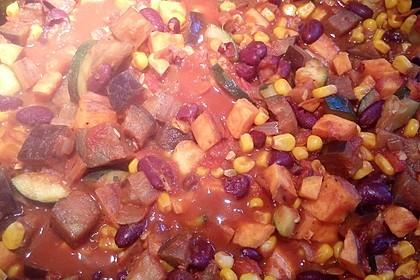 Süßkartoffel-Chili 22
