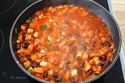 Süßkartoffel-Chili 2
