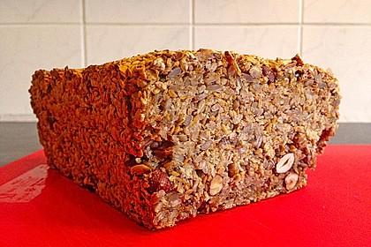 Brot mit Flohsamen 9