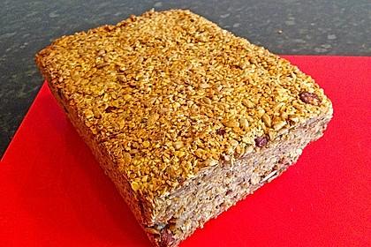 Brot mit Flohsamen 10