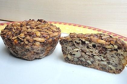 Brot mit Flohsamen 8