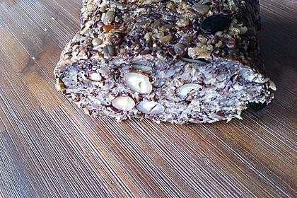 Brot mit Flohsamen 7
