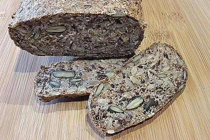 Brot mit Flohsamen