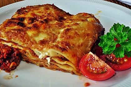 Mediterrane Lasagne (Bild)