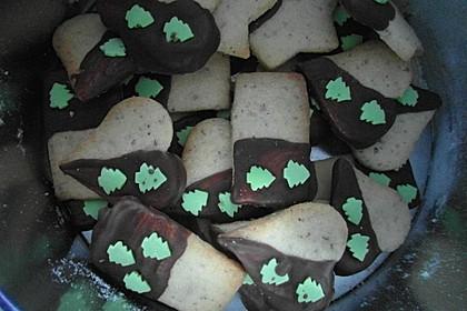Bunte Marzipan-Kekse (Bild)