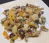 Gemüse-Kartoffel-Pfanne mit Ei (Bild)