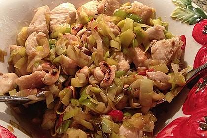 Huhn-Porree-Salat 10