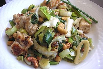Huhn-Porree-Salat 3