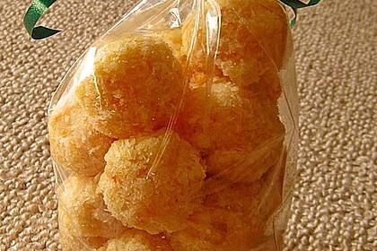 Exotische Pralinen aus Trockenfrüchten