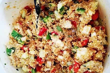 Quinoa-Mozzarella Salat 4