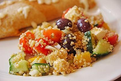 Quinoa-Mozzarella Salat 2