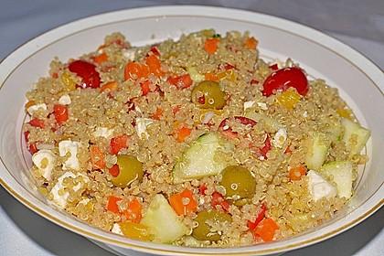 Quinoa-Mozzarella Salat 3