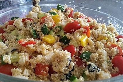 Quinoa-Mozzarella Salat 1
