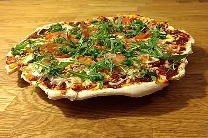Steinofenpizza für den Grill (Bild)