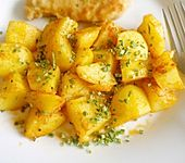 Selbstgemachte Kartoffelecken (Bild)