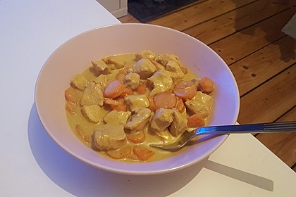 Low Carb Hähnchencurry 6