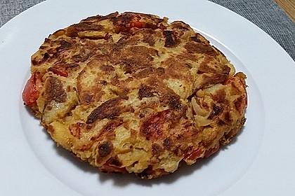 Spanische Tortilla, vegan (Bild)