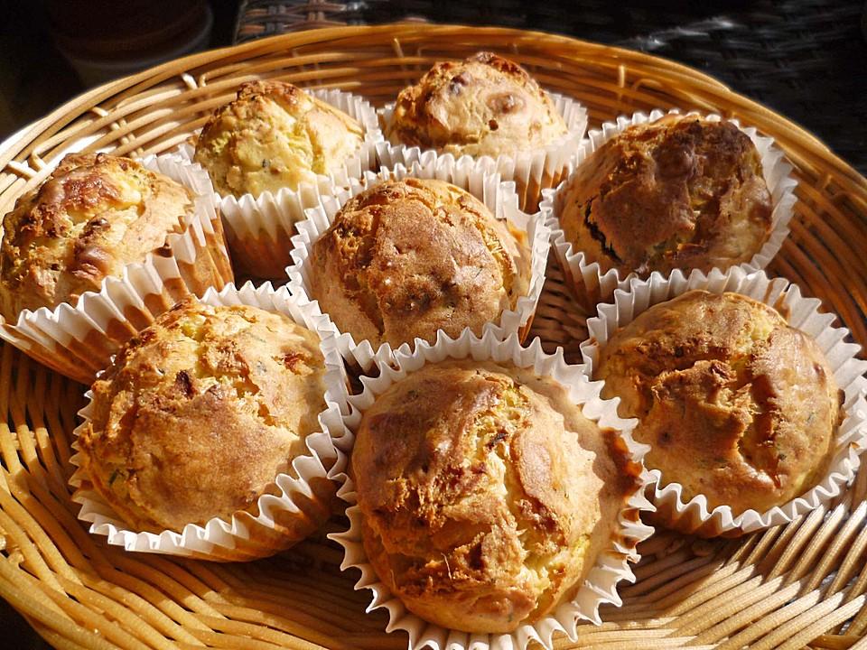 Herzhafte Käse Zucchini Muffins Von Bittersweetmango Chefkoch