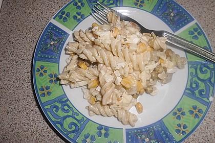 Spirellinudelsalat mit Apfel à la Semmerl 1