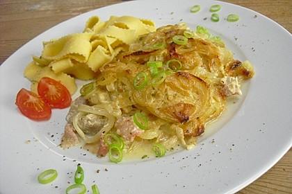 Schnitzel mit Senfkruste