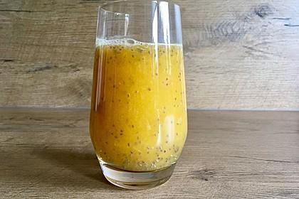 Chia-Bubble-Getränk