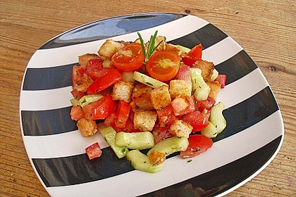 Italienischer Brotsalat - Panzanella speciale 3