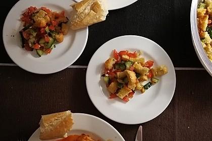 Italienischer Brotsalat - Panzanella speciale 5