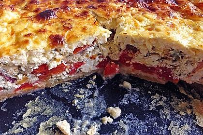 Tomaten-Feta-Küchlein (Bild)