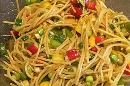 Chinesischer Nudelsalat 3