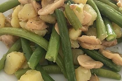 Kartoffel-Bohnen-Champignon-Pfanne 8
