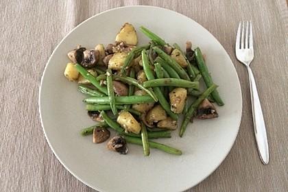 Kartoffel-Bohnen-Champignon-Pfanne 6