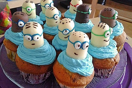 Minion Cupcakes (Bild)