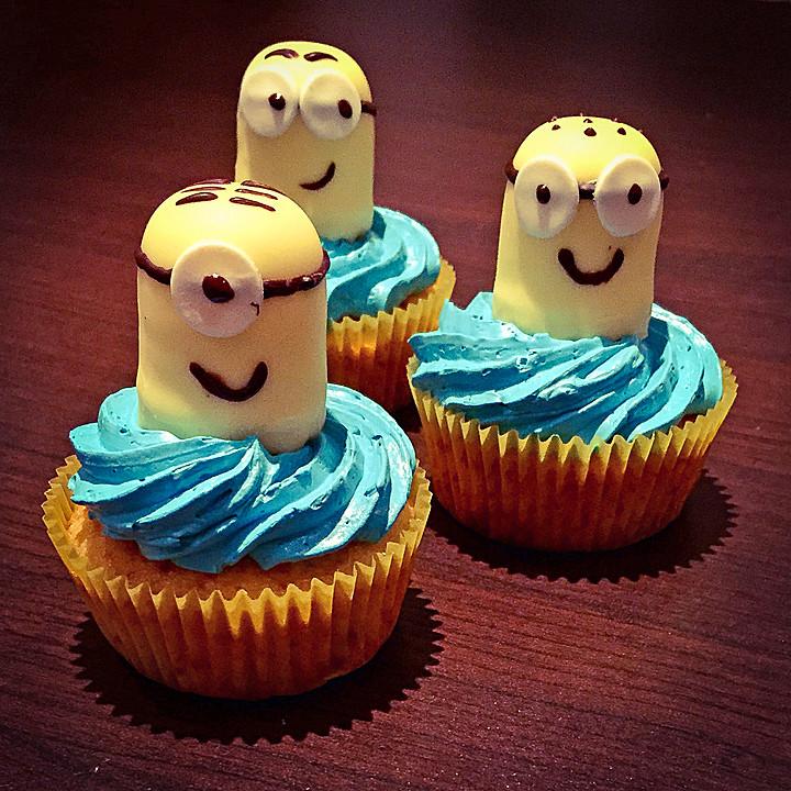 Minion Cupcakes Von Lea1012 Chefkoch De