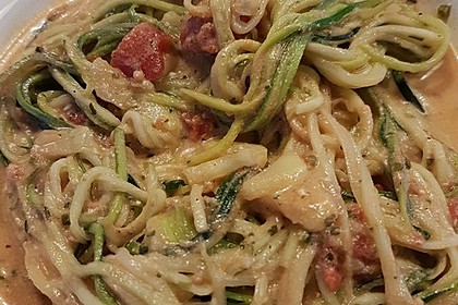 Zucchini-Nudeln Low Carb 5