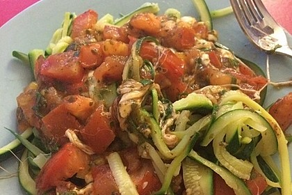 Zucchini-Nudeln Low Carb 2