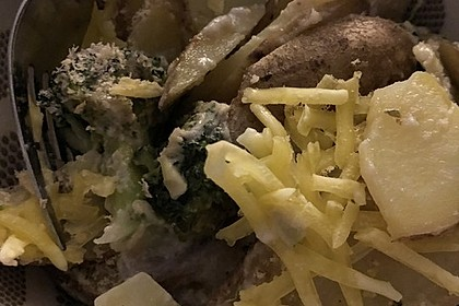 Veganes Kartoffelgratin 2