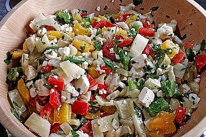 Fenchel-Paprika-Salat