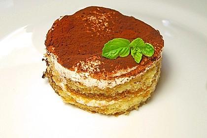 Frischkäse-Tiramisu ohne rohes Ei und ohne Mascarpone 3
