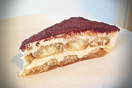 Frischkäse-Tiramisu ohne rohes Ei und ohne Mascarpone 2