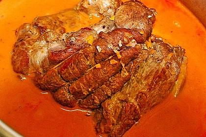 Smokeys Kalbsbraten mit Orangen-Rosmarin-Sauce 1
