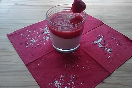 Erdbeermus auf Quark mit feiner Bananen-Vanille-Note 5