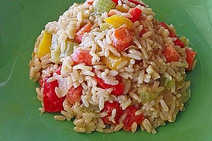 Gemüsereispfanne mit Kokosmilch 5