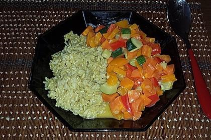 Gemüsereispfanne mit Kokosmilch 6