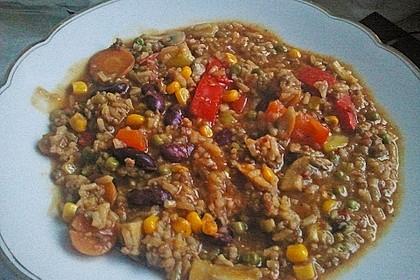 Gemüsetopf mit Hackfleisch 1