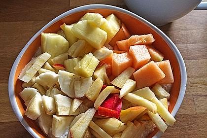Protein-Porridge mit Früchten
