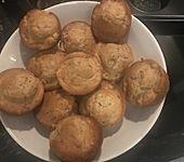 Apfel-Bananen-Zimt-Muffins (Bild)